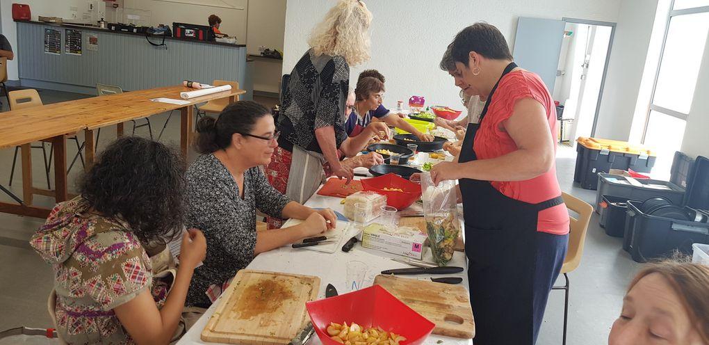 Notre cours de cuisine en images