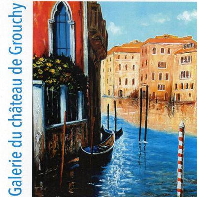 Exposition peintures Lucien GONDRET au château de Grouchy à Osny