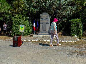 Barrême  : Cérémonie et distinction à la Mémoire du maquis Fort-de-France
