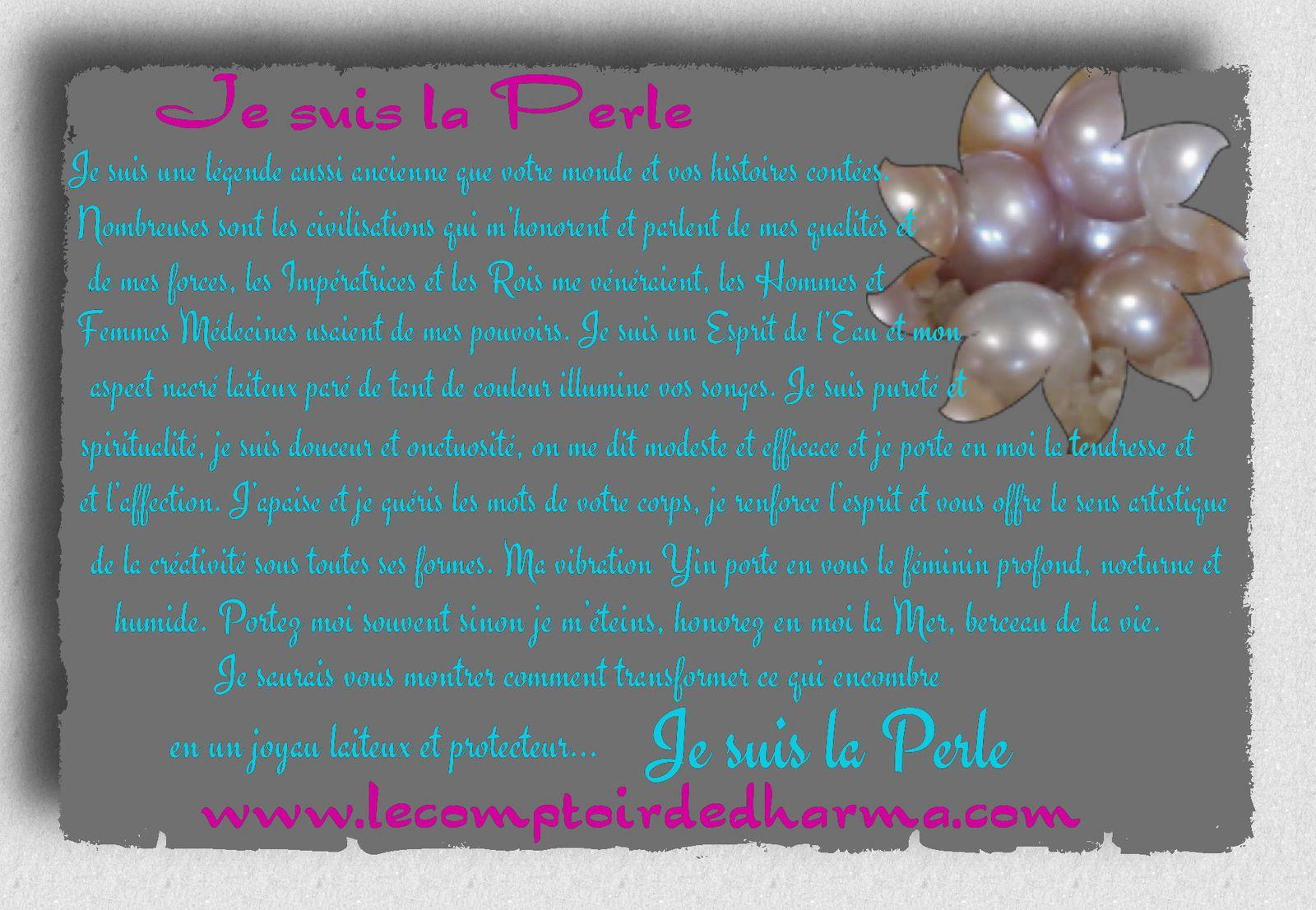Les perles d'eau douce