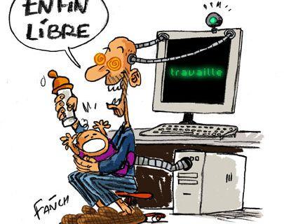 Télétravail : le dossier de la C.G.T Educ'action Auvergne