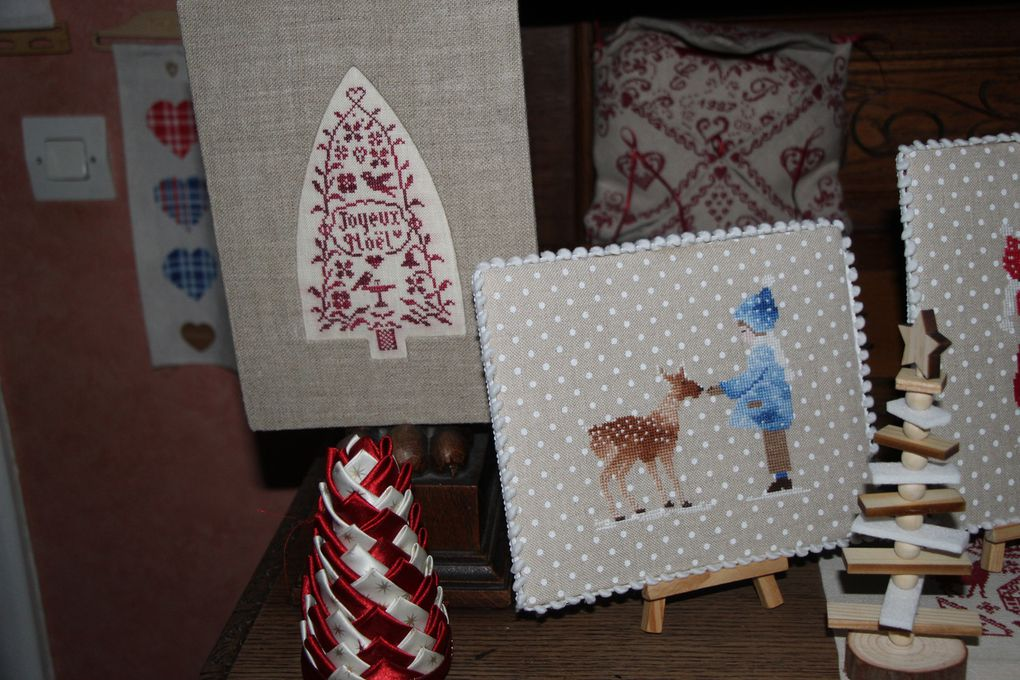 Premier décembre, première  neige ,décoration hivernale et calendriers de l'Avent