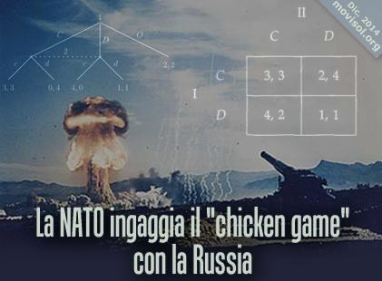 """La NATO ingaggia il """"chicken game"""" con la Russia"""