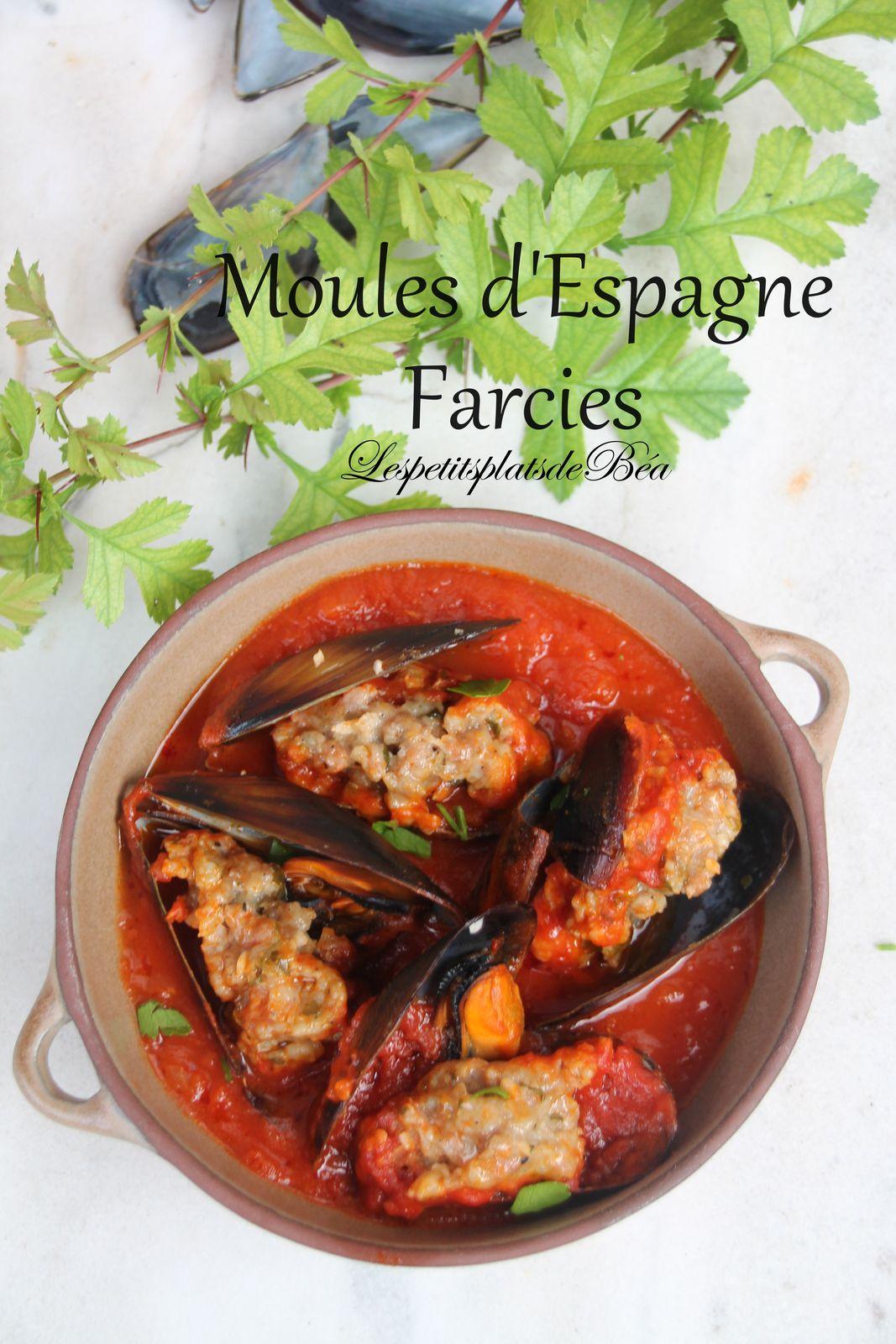 Moules d'Espagne farcies