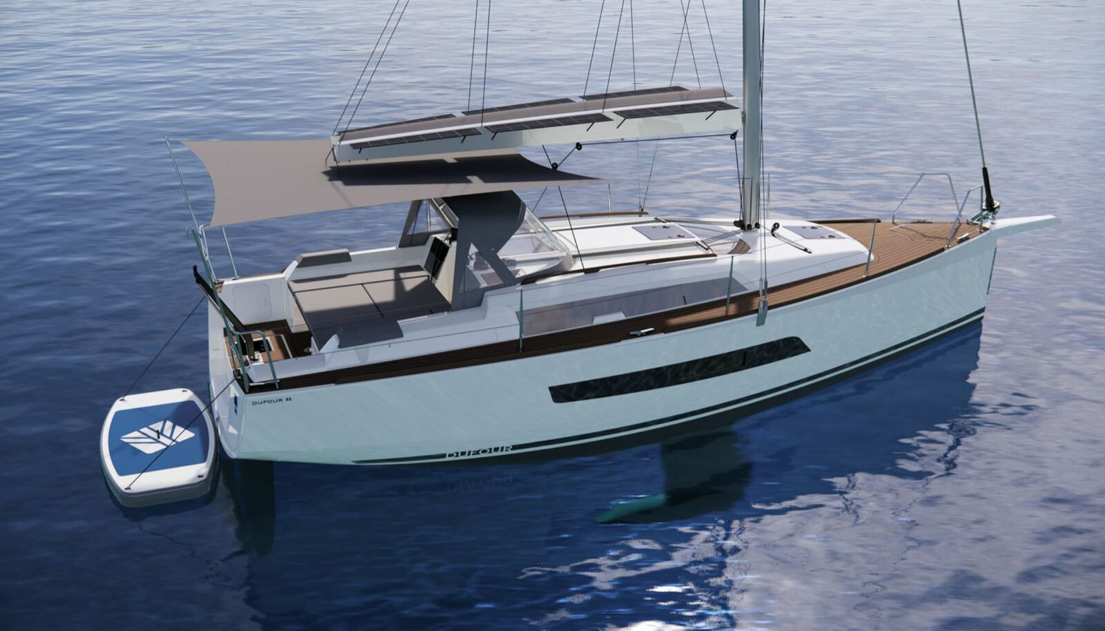 New sailing boat 2021 - the Dufour 32, the sailing boat for friends