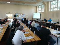 Réunion annuelle des Délégués du Personnel à Lens le 28 avril 2016.