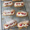 Eclairs chantilly et framboises