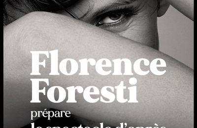 Florence Foresti prépare le spectacle d'après, à Paris au Théâtre Mogador à partir du 9 Déc. 2020 et en tournée