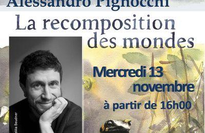 Rencontre avec Alessandro Pignocchi