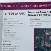 ALGRANGE: Requalification de la zone anciens laminoirs (S.M.K.) en 2012-2013