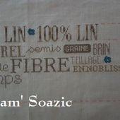 SAL 100 % LIN, organisé par Amélie - Chez Mamigoz