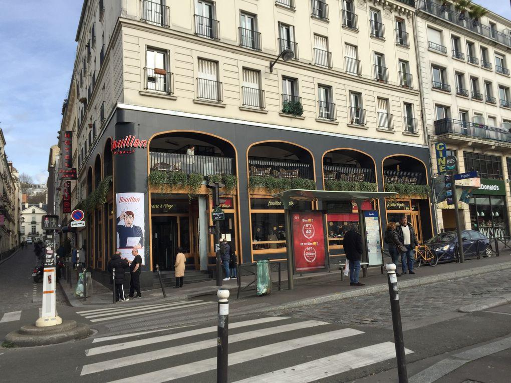 Le « Bouillon-Pigalle », février 2019.