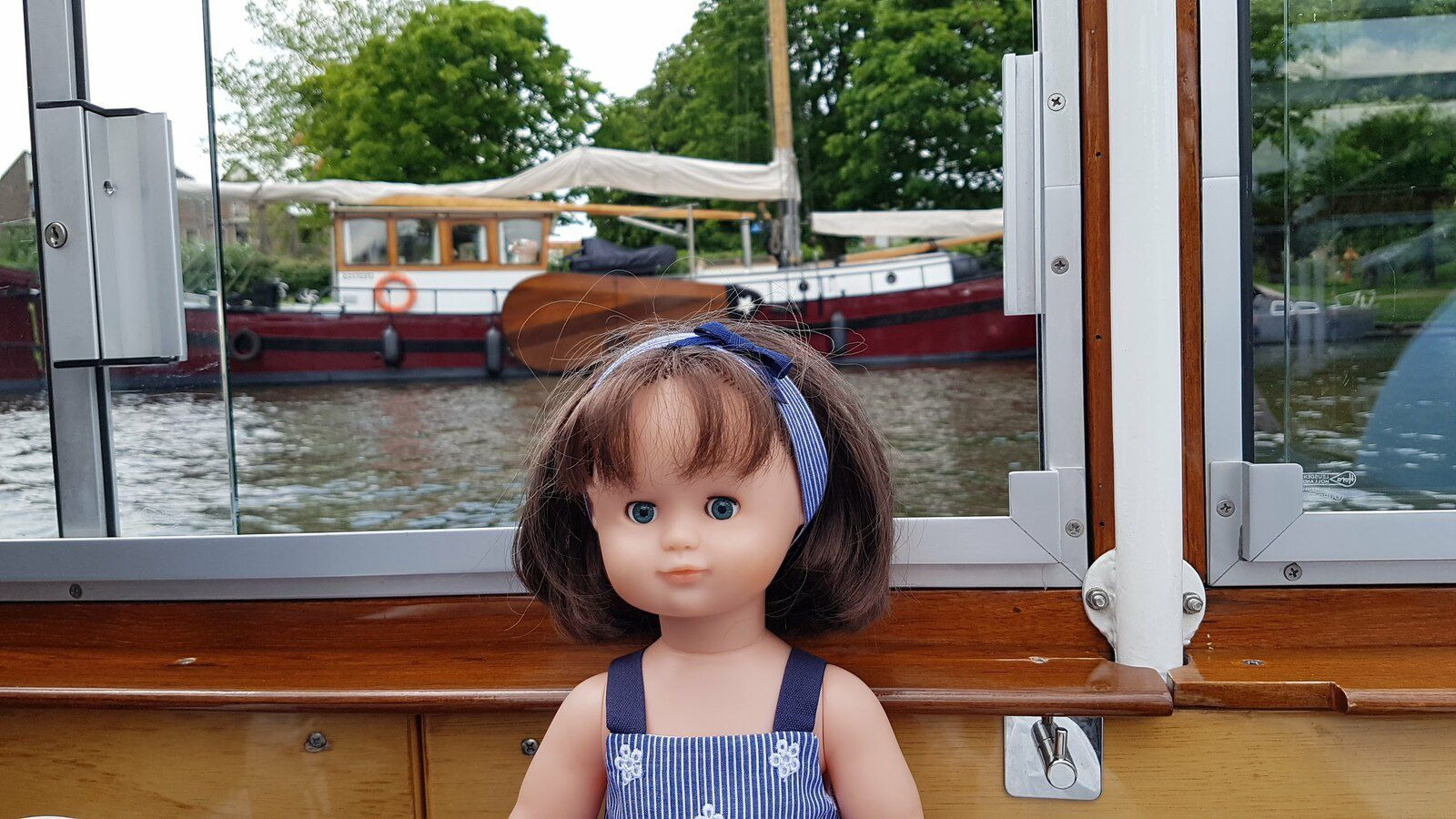 Emilie-Lise fin du voyage à Leiden