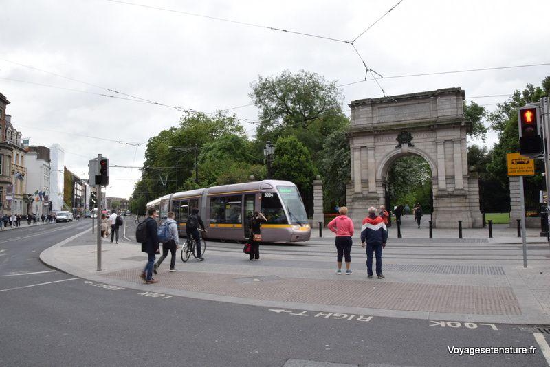 Balade dans Dublin