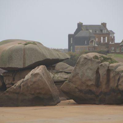 les rochers gros comme des maisons