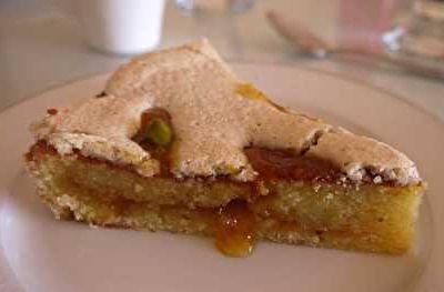 Gâteau Alcazar aux amandes et abricots
