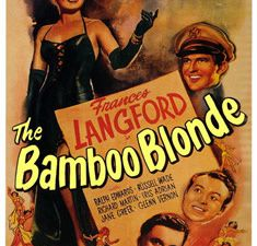 Bombardier - The Bamboo Blonde