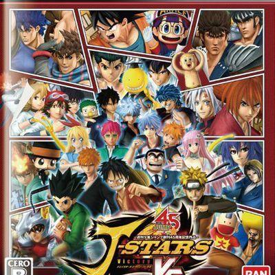 Cross-Over de 32 mangas: J-Stars Victory VS