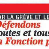 Fonction Publique : la CGT appelle à la tenue d'assemblées générales pour déterminer l'action collective - Ça n'empêche pas Nicolas