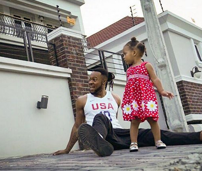 Flavour Is All Loved Up With His Two Adorable Daughters In New Video
