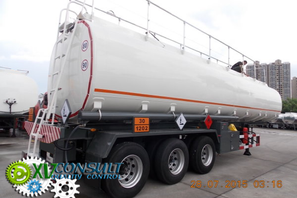1/ Fuel Semi Trailers 45000 Liters - 48 Units - Manufacturing - Quality Control - Shipping - Part 2/4