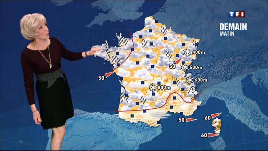 Evelyne Dhéliat 18 mars 2013 midi