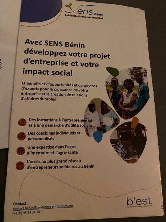 Kemi FAKAMBI de SENS-Bénin présente la démarche B'EST (Bénin Entreprendre Solidarité avec les Territoires).
