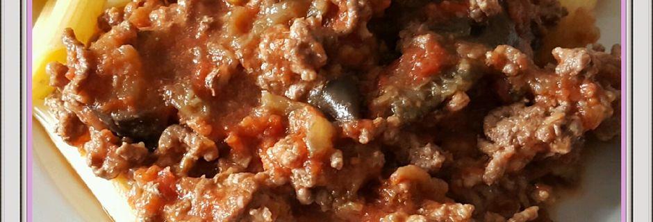 Aubergines façon bolognaise (Cookeo)