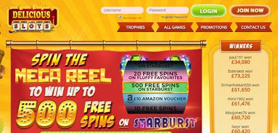 Delicious Slots Review | New Mobile Slot Sites