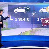 Électrique, hybride... Le match des voitures propres - Le journal de 20h   TF1