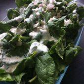 épinards frais à la crème - mes recettes omnicuiseur