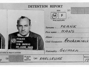 Nuremberg Trial Defendants : Hans Frank