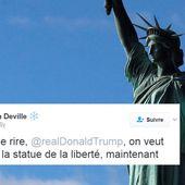 Décret anti-musulmans de Donald Trump: ces internautes français veulent que les États-Unis rendent la Statue de la Liberté