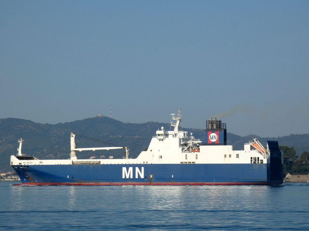 MN CALAO , appareillant de Toulon le  11 juillet 2020