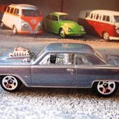 64 CHEVY CHEVELLE SS MOTEUR SORTANT HOT WHEELS 1/64 - car-collector.net