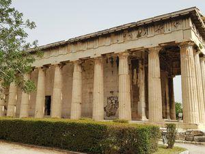 L'Agora et le temple d'Hephaistos