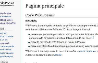 """Nasce """"WikiPoesia"""" - L'enciclopedia monografica di Poesia"""
