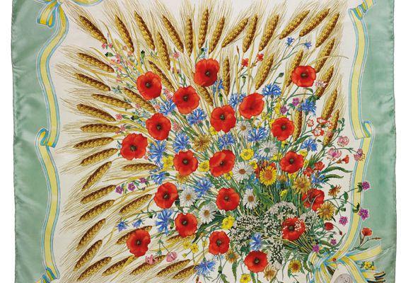 Vittorio Accornero et ses dessins de foulards pour Gucci
