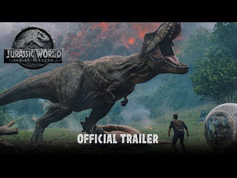 JURASSIC WORLD Fallen Kingdom, bande annonce.