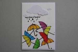 Farandole de parapluies
