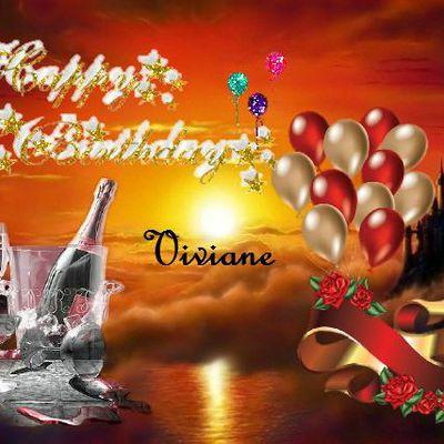 Bon anniversaire Viviane