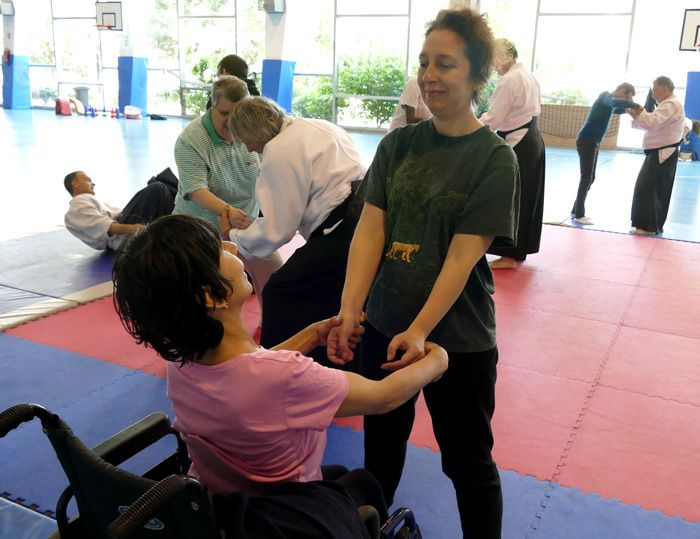 Participation du club aux handicapades