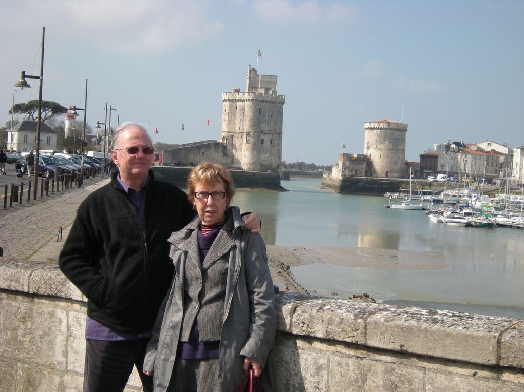 Du 12 au 17 avril 2010, vacances en famille sur l'Ile-de-Ré en Charente-Maritime.