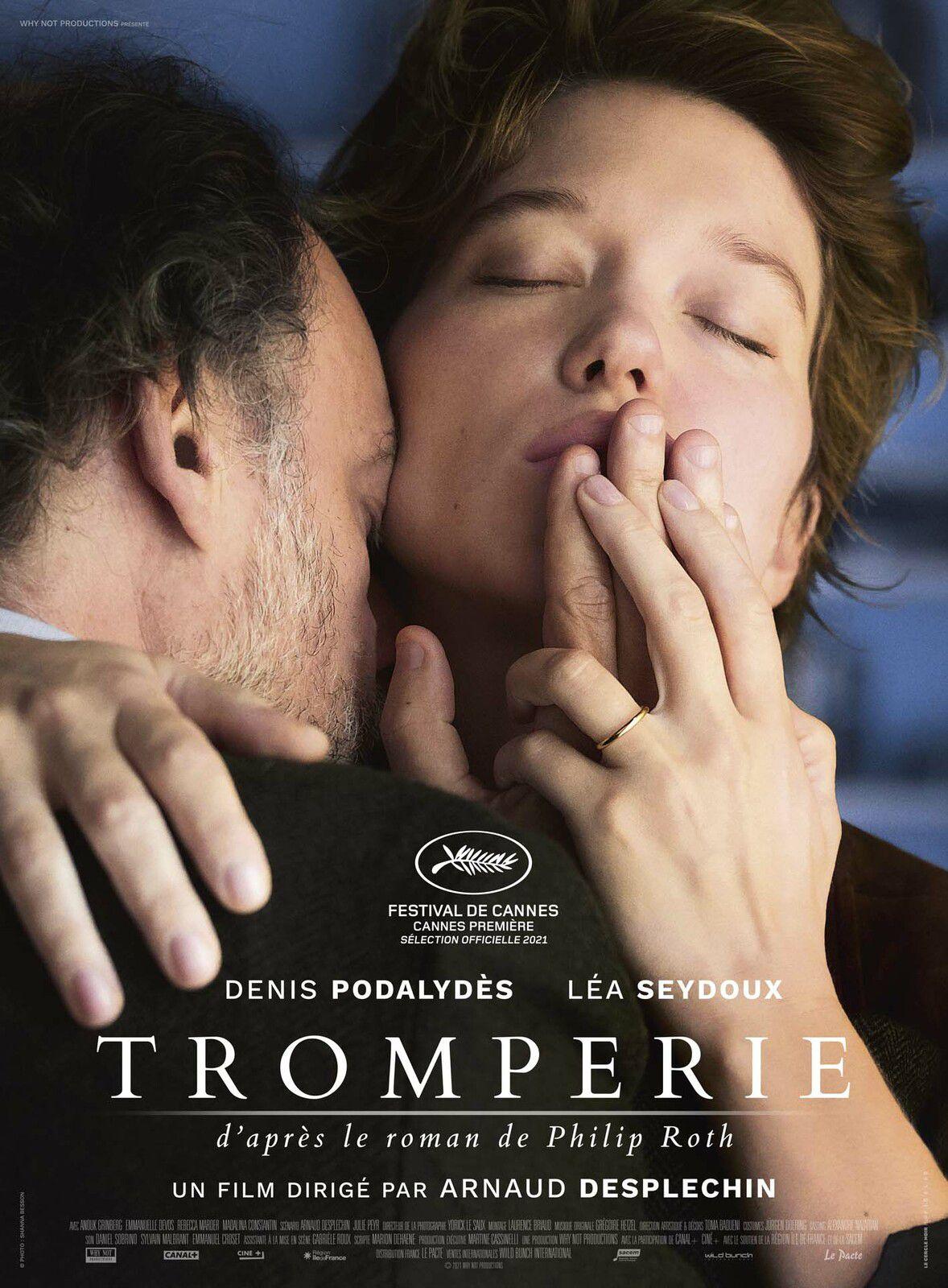 Tromperie (BANDE-ANNONCE) avec Léa Seydoux, Denis Podalydès, Emmanuelle Devos - Au cinéma le 29 décembre 2021