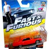 PLYMOUTH ROADRUNNER 1970 FAST AND FURIOUS 7 MATTEL 1/55. - car-collector.net
