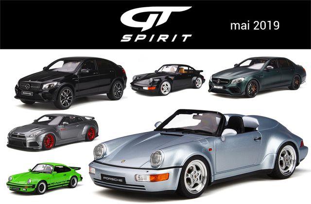 1/18 : Les nouveautés GT Spirit mai 2019
