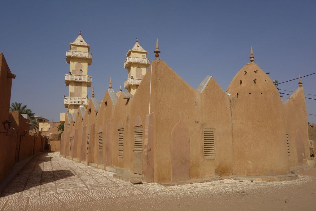 Zoom sur les villes en Mauritanie.