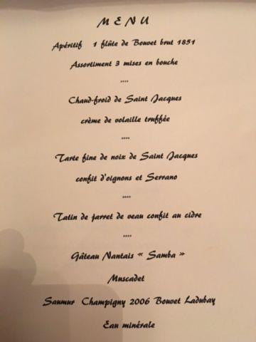 Académie culinaire de la Coquille St.Jacques.
