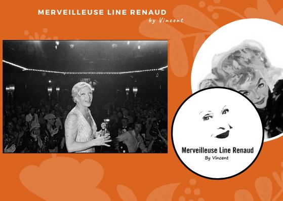 PHOTOS: Line Renaud sur scène fête ses 30 ans de spectacles cabarets en 1976