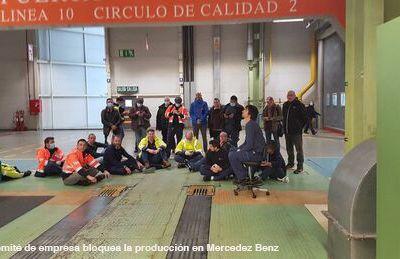 Usine Mercedes à Vitoria : la vie avant les profits